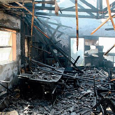 Beispiele Brandsanierung